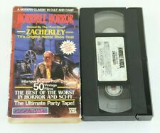 Horrible Horror VHS Hosted By Zacherley Home Video Sci-Fi 1986 Goodtimes