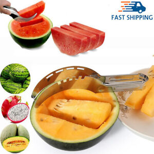 Stainless Steel Watermelon Slicer Knife Fruit Vegetable Cutter Kitchen Tools