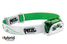 Petzl ACTIK 350 Lumens Headlamp Green Lightweight Men's Women's Running Lamps