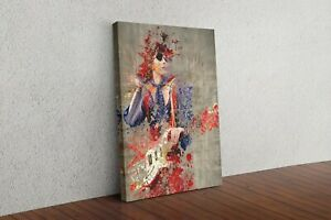 David Bowie Ziggy Stardust Framed Canvas Wall Art Picture Print Home Decor