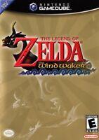 Zelda Wind Waker Nintendo Gamecube Game Complete