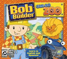 Bob the Builder Can Do Zoo Win XP Vista 7 8 10 MAC  Learn in English & Spanish