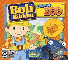 Bob the Builder Can Do Zoo Win XP Vista 7 8 10 MAC  Learn in English & Spanish