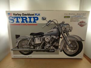 IMAI no.B-1249 Harley Davidson FLH STRIP Type Motorcycle 1:12 Incomplete Kit