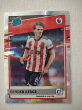 New listing Sander Berge 2020-21 Chronicles Donruss Rated Rookie Purple Astro.