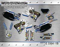 Yamaha WRf WR 250 400 426 1998 up to 2002 graphics decals kit Moto StyleMX