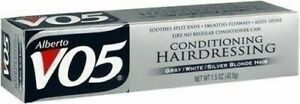 Alberto VO5 Conditioning for Gray/White/Silver Blonde Hair, 1.5-Ounce