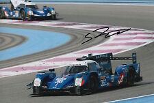 Stephane Richelmi Hand Signed 12x8 Photo Signatech-Alpine Le Mans 2016.