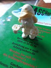 schlumpfinchen mit Blümchen Sammlung selten