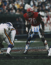 Bobby Bell Kansas City Chiefs SIGNED 8x10 Photo COA!