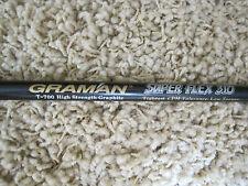 "*Graman T-700 High Strength Graphite Shaft SuperFlex 310 Low Torque  37 1/4"""
