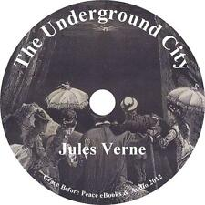 The Underground City, Child of the Cavern, Jules Verne Audiobook on 1 MP3 CD
