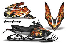 YAMAHA APEX GRAPHIC STICKER KIT AMR RACING SNOWMOBILE SLED WRAP DECAL 06-11 FIRE