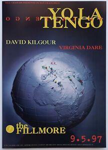 Yo La Tenga Concert Poster 1997 F-287 Fillmore