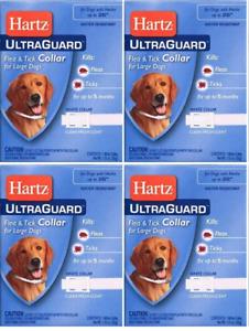 Hartz UltraGuard Flea & Tick Collar for Large Dogs (4 Pack)