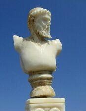 Zeus von Artemision - Horn geschnitzt auf Beinsockel - Wunderkammer !