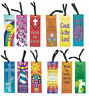 Christian Bible Religious Bookmark Assortment (12 Pack)