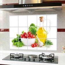 Patrón de fruta Papel Tapiz De La Cocina Lámina de Adhesivos a prueba de aceite