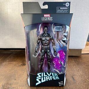 SILVER SURFER Obsidian Marvel Legends Walgreens exclusive Mjolnir *SHIPS FAST*