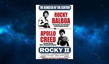 Rocky VS Apollo Creed Fridge Magnet. NEW. Rematch of the Century. Rocky II