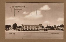 El Paso,TX Texas, Del Camino Courts used 1943
