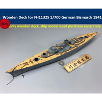 TMW 1/700 Wooden Deck for Flyhawk FH1132S German Battleship Bismarck 1941