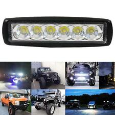 18W Spot LED Bright Light Work Bar 800LM Driving Fog Offroad Car Lamp Useful g