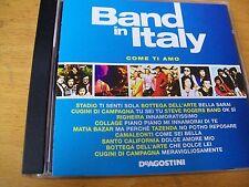 BAND IN ITALY COME TI AMO CD MINT- MATIA BAZAR TAZENDA STADIO RIGHEIRA COLLAGE