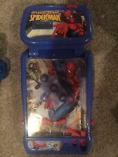 2010 Spiderman Spider Sense Electronic Tabletop Pinball Game Machine