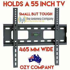 "TV Bracket wall mount 32-55"" Full Wall Plate 75 kg matchmaster HDTV TB05 DIY KIT"