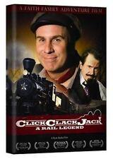 Click Clack Jack: A Rail Legend (Slimline DVD,2009) BRAND NEW FACTORY SEALED DVD