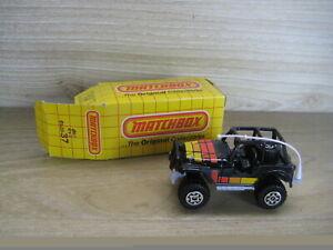 MATCHBOX SUPERFAST (69-83) MB37  JEEP 4x4  BLACK