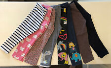 Pack Of 8 Pairs Of Girls' Leggings From Next Age 3-4 Years Excellent Condition