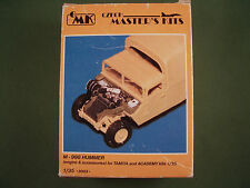 Czech Master's 1/35 Resin Conversion Kit US M-998 Hummer Engine & Accessories