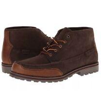 POLO Ralph Lauren Men's Boot WATERTON, Dark Brown Ankle Lace Size 9