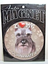 Schnauzer Dog Heavy Duty Art Magnet Free Shipping ASAP