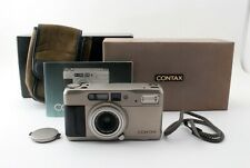 Contax TVS Point & Shoot 35mm Film Camera w/ Strap,Box [AS-IS] JAPAN 651877