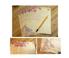 100 sheets Beautiful Flower Vintage Pattern Letter Pad Writing Paper Stationery