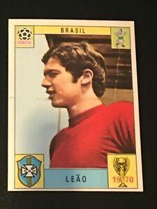 Unused Panini World Cup Mexico 70 (1970) Card - LEAO (Brazil)