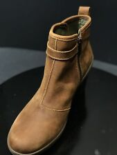New El Naturalista Lichen Pleasant Wood Ankle Leather Boots Size EUR 40/ UK 7