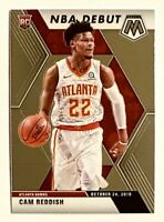 2019-20 Prizm Mosaic CAM REDDISH RC, NBA Debut Rookie, #271, Atlanta Hawks, Duke