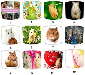 Hamsters Lampshades Ideal To Match Bedding Duvets Curtains Cushion Covers