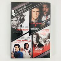 Lethal Weapon DVD Collection - 1 2 3 4 Mel Gibson Danny Glover