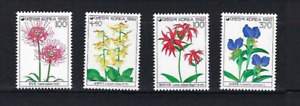 Korea 1992   Flower Flowers  Series  Stamp