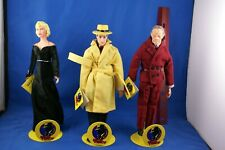 Applause Dick Tracy 10� Figures with Stands Lot of 3