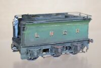 DJH BRASS KIT BUILT WEATHERED LNER TENDER ONLY ne
