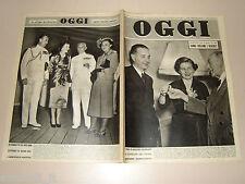 OGGI=1950/14=DISCHI VOLANTI UFO=PUNTA STILO MARINA MILITARE=RAFFAELE VIVIANI=