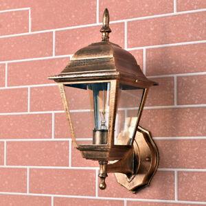 Vintage Wall Sconce Outdoor Wall Lamp Glass Wall Lights Garden Hallway Lighting