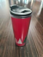 Starbucks Red Christmas 16 oz 2017 Travel Mug Coffee Cup Trees Winter Holiday