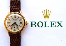 Rolex ♛ Precision 8823 ROSA ORO 18c 750 VINTAGE ledie's luxury watch box 1950